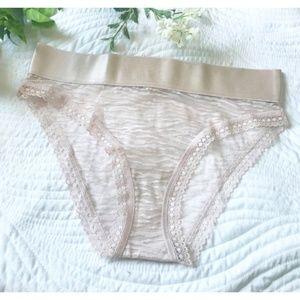VS Lace Panty - Size Small - Lace Underwear